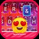 Colorful Galaxy Theme&Emoji Keyboard by Emoji GIF Maker Fans