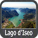 Lake Iseo GPS Nautical and Fishing Charts by FLYTOMAP INC