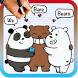 How To Draw We bare bears by Drawings Apps
