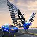 US Police Transform Robot Car Cop Eagle game by Kick Time Studios