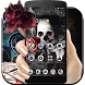 Gothic Skull Rose Theme by Beauty Theme Studio