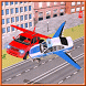 Flying Police Car vs Criminals by Soul Colorx