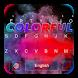 Colorful Holi Keyboard by Echo Keyboard Theme