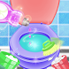 Bathroom Cleanup - Cleaning & Washing dirty toilet by Games Logic Interactive LLC