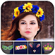 Kawaii Photo - Flower & Heart Crown Photo Editor