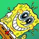 Super Sponge bobe adventure square game pants