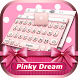 Pinky Dream Theme&Emoji Keyboard by Cool Keyboard Theme Design