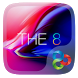 The 8 Go Launcher Theme by Lucky Art