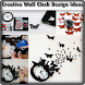Creative Wall Clock Design Ideas by selawapk