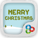 Merry Christmas Launcher Theme by Lucky Art