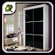 Black Wardrobe Closet Design by Nasal Goo