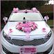 Wedding Car Decoration by hamstudio