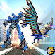 Flying Robot Eagle Transform: Futuristic Robot War