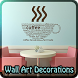 Metal Wall Art Decorations by Heidi Haptonseahl