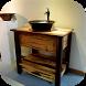 DIY Bathroom Vanity by Kosamabi