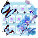 Butterfly Love Flower by Keyboard Design Paradise