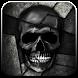 Black White Skull by Hot Launcher