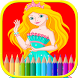 Princess Coloring Book by Games Fun Free