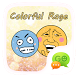 (FREE)GOSMS COLOR RAGE STICKER by We Themes
