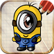 Draw Despicable Me Minions by Level Up!