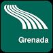 Grenada Map offline by iniCall.com