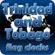 Trinidad and Tobago flag clock by modo lab