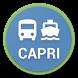 Capri - Bus & boat timetable by Giuseppe Romano