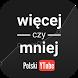 Więcej czy Mniej: Polski YT