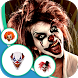 Killer Clown Mask Photo Editor by Jasmine Armstrong
