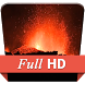 Eruption Volcano Fire HD LWP by Glamour App