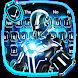 3D Neon Hero Keyboard Theme by Pretty Cool Keyboard Theme