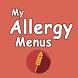 My Allergy Menus by Gipsee, Inc.