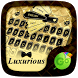 Luxurious GO Keyboard Theme by Popular Keyboard Theme