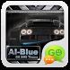 GO SMS PRO AiBlue ThemeEX by ZT.art