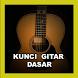 Kunci Gitar Dasar by Wabdee Studio