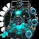 3D Neon Hero Theme by 3dthemecoollauncher