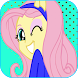 Live Wallpapers Fluttershy by Louzazouac
