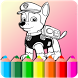 How to color paw patrol -coloring game- by Appspromaker89