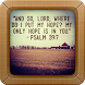 Bible Verses Wallpapers by Wayang Kulit