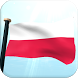 Poland Flag 3D Live Wallpaper by I Like My Country - Flag