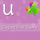 GO Launcher Elegant Pink Theme by Uebdisain