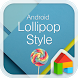 Lollipop LINE Launcher theme by Camp Mobile for dodol theme