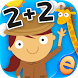 Animal Math Games for Kids 2+2 by Eggroll Games