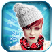 Winter Stickers: Hat And Scarf by Photo Montages Pro