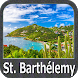 Saint Barthelemy GPS Nautical and Fishing Charts by FLYTOMAP INC