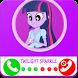 twilight sparkle fake call - Little Pony Prank by Studio fun