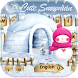 Cute Snowman Keyboard by Keyboard Design Paradise