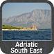 Adriatico South East GPS Map
