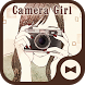 Wallpaper Camera Girl Theme by +HOME by Ateam