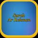 Surah Ar Rahman Audio by Artanabil Studio